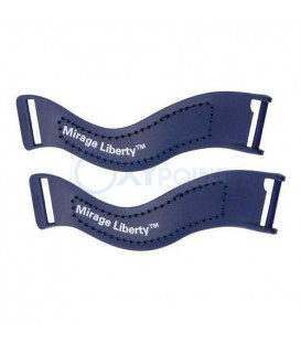 Upper Headgear Clips for Mirage Liberty - 2 pk - ResMed