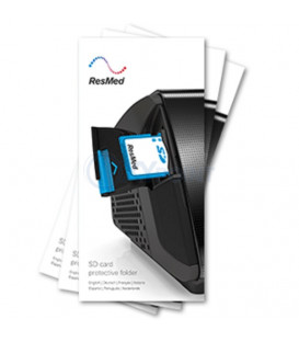 SD card protective folder - 10 pk - ResMed