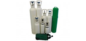 Bombola per ossigeno F.U. 1 l (vuota)