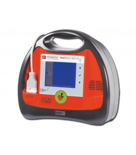 Defibrillator Heart Save AED-M with Monitor and Akupak Lite
