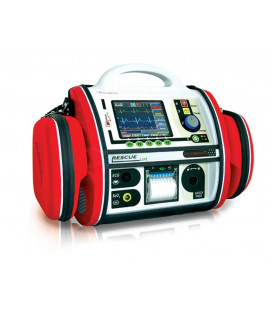 Defibrillator Rescue Life AED with SpO2