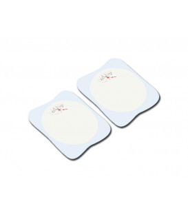Compatible pads - for Rescue Sam defibrillator - adults