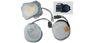 Placche compatibili - Per defibrillatori MEDTRONIC/OSATU/BEXEN